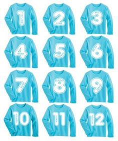 kids long-sleeve blue my age tee