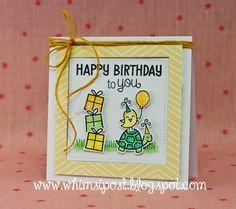 Whimsipost: Lawn Fawn's 5th Birthday!