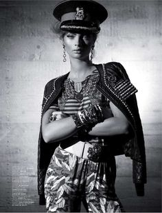 visual optimism; fashion editorials, shows, campaigns & more!: diktat mode: moa aberg by mason poole for jalouse december 2012