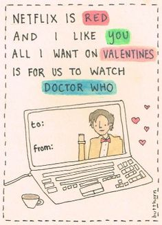 I want to get a card like this :) its cute...and I love Doctor Who