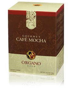 Gourmet Café Mocha - Blending our quality coffee with the finest cocoa and our renowned Ganoderma, Organo Gold Gourmet Café Mocha offers the rich, cocoa-tinged coffee flavor you'd expect of a mocha.