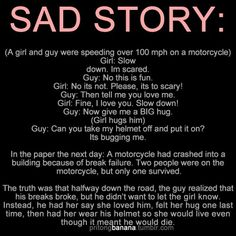 sad story.. but true love.
