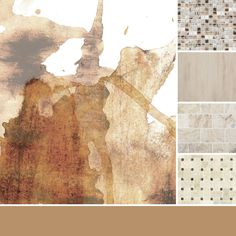 A neutral blend of oatmeal and honey tones.  #thetileshop #inspiration