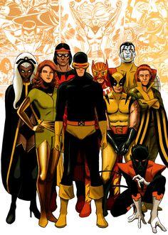 All New-All Different X-Men ~ art by Alvaro Martinez