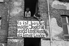 70s anarchists, Germany. Can someone tell me what the sign means?