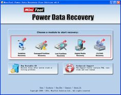 Perform easy recovery of lost data with data recovery software.