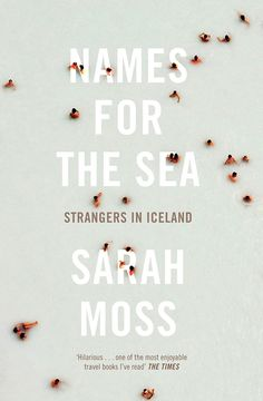 Names for the sea book cover (print, design, photography, typography)