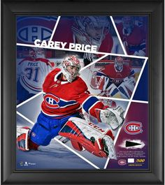 6758d7028f2 Carey Price Montreal Canadiens Framed 15