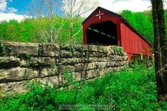 CARROLLTON COVERED BRIDGE  The second longest and third oldest covered bridge in West Virginia