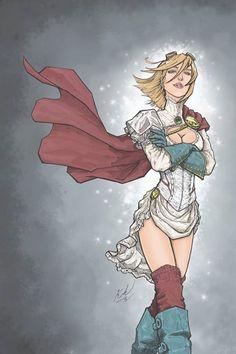 Steampunk Power Girl by Johnni Kok