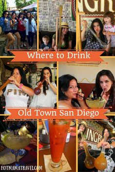 The birthplace of California is still as lively as ever and great for visiting without or without kids. Click to see where the best places are to quench your thirst in Old Town San Diego.