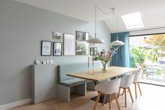 Portfolio - Studio Binnen Modern Dining Table, Scandinavian Interior, Scandinavian Style, Colorful Interiors, Decorating Tips, Diy Home Decor, New Homes, Interior Design, Interior Colors
