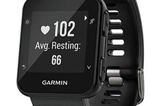Life is good when you're in your running shoes, but life is even better when you have a cool Garmin Forerunner 35 GPS Heart Rate Running Fitness Watch wrapped