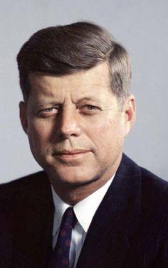 John F. Kennedy :)