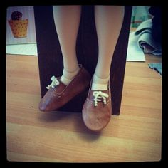 Shoes for Minifee / Msd Feet size 55 cm . OOAK di Style4Bjd, €20.00