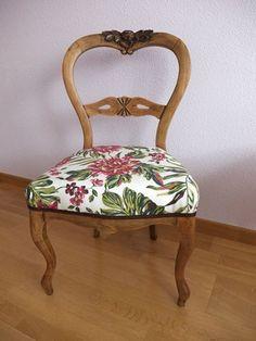 Resultado de imagen de decoracion silla tulip blanca tapizado fucsia