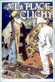 A la Place Clichy   Grasset, Eugène-Samuel, 1841-1917