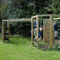 Adventure playgrounds are designed to encourage physical play through learning. Choose your play structure today from our outdoor playground range.