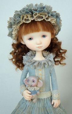 Art Doll, by Mixed-media Artist Ana Salvador - Netherlands