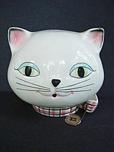 1958 Holt Howard Cozy Kitten String Holder