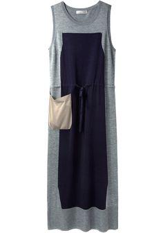 Tsumori Chisato / Colorblocked Silk Knit Dress