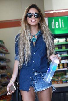 Vanessa Hudgens Turquoise Necklace