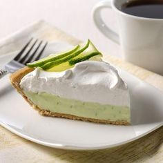 CARNATION® Key Lime Pie (Easy; 8 servings)  #no bake, #dessert