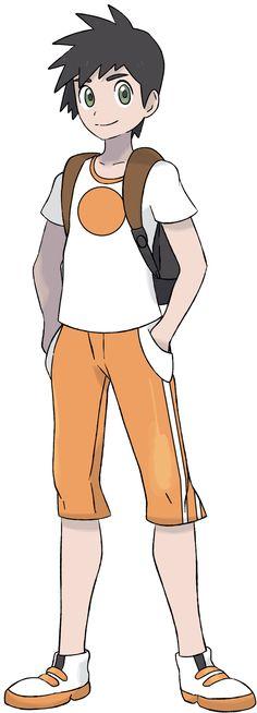 Pokemon Commission - Trainer Mac by DevilDman on DeviantArt Pokemon Human Characters, Pokemon Rpg, Cute Pokemon, Pokemon Cards, Pokemon Images, Pokemon Pictures, Pokemon Trainer Outfits, Character Art, Character Design