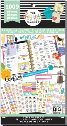 Me /& My Big Ideas crear 365/el planificador de Happy Fitness pegatinas pps-64