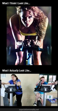 Spin Class | Expectation Vs Reality