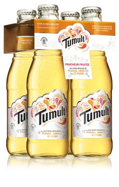 Sounds like Kombucha by Coca-Cola: Tumult // new drink #branding #logo #packagedesign #packaging #drinks
