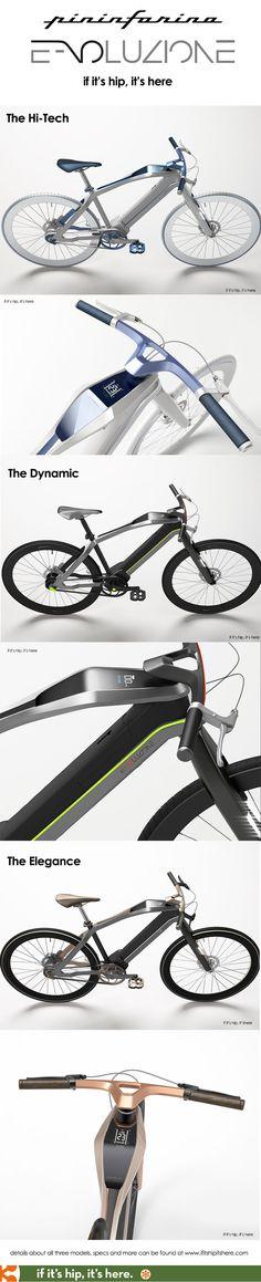 Pininfarina launches 3 New Electric Bikes. The Pininfarina Evoluzione at http://www.ifitshipitshere.com/the-pininfarina-e-voluzione/
