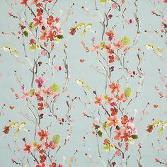Buy Voyage Armathwaite Furnishing Fabric, Pink Online at johnlewis.com