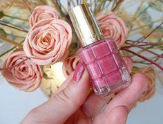 My Golden Glitter Corner: Smalto L'OREAL colore ad olio by ℭolor ℛiche ❥ n°224 ℛose ℬallet