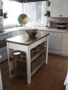 Kleine Kücheninsel Tisch