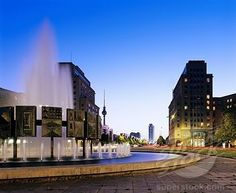 Strausberger Platz - What was then East Berlin, East Germany
