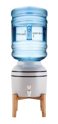 Primo Pioneer Ceramic Water Dispenser with Stand Fits 3 & 5-Gallon Bottles #PRIMOPRODUCTSLLC