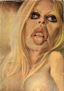 Brigitte Bardot, 1973-74 // Multier-Morchoisne- Ricord Crazy Funny Pictures, Funny Pictures Of Women, Funny Photos, Art Pictures, Brigitte Bardot, Funny Caricatures, Celebrity Caricatures, Character Illustration, Illustration Art