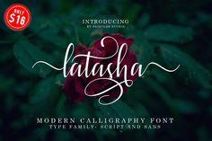 Latasha Font Family - 6 Font example image 1