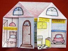 Englisch in der Grundschule: Teile des Hauses / Zimmer