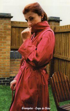 Mackintosh Raincoat, Rubber Raincoats, Macs, Rain Wear, Latex, Women Wear, Texture, Clothing, How To Wear