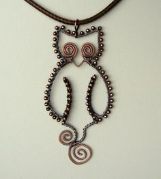 Owl pendant (present) | by Louise Goodchild