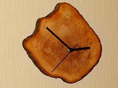SALE. Wooden clock rustic clock wooden wall clock by Woodur