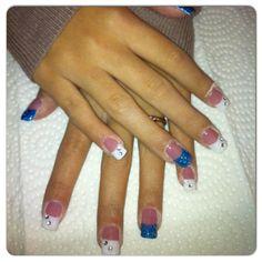 bleuue nail