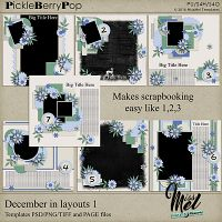 December in layouts 1