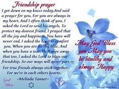 Prayer for best friend