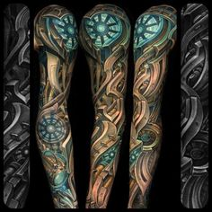 Epic biomechanical sleeve... julian siebert