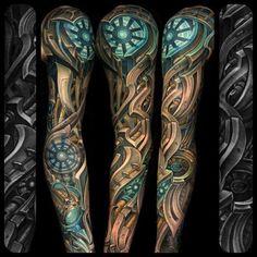 Epic biomechanical sleeve... julian siebert