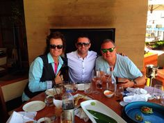 Pals Robbie Keane (Wolves Legend & LA Galaxy Captain) and PK & our families at Nobu Malibu