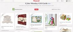 Pinners save their wislists for Cyber Monday on Pinterest